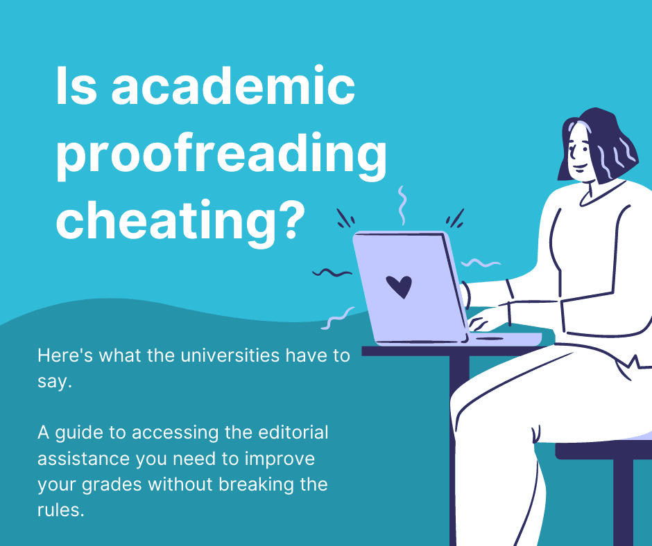 Is academic proofreading cheating?